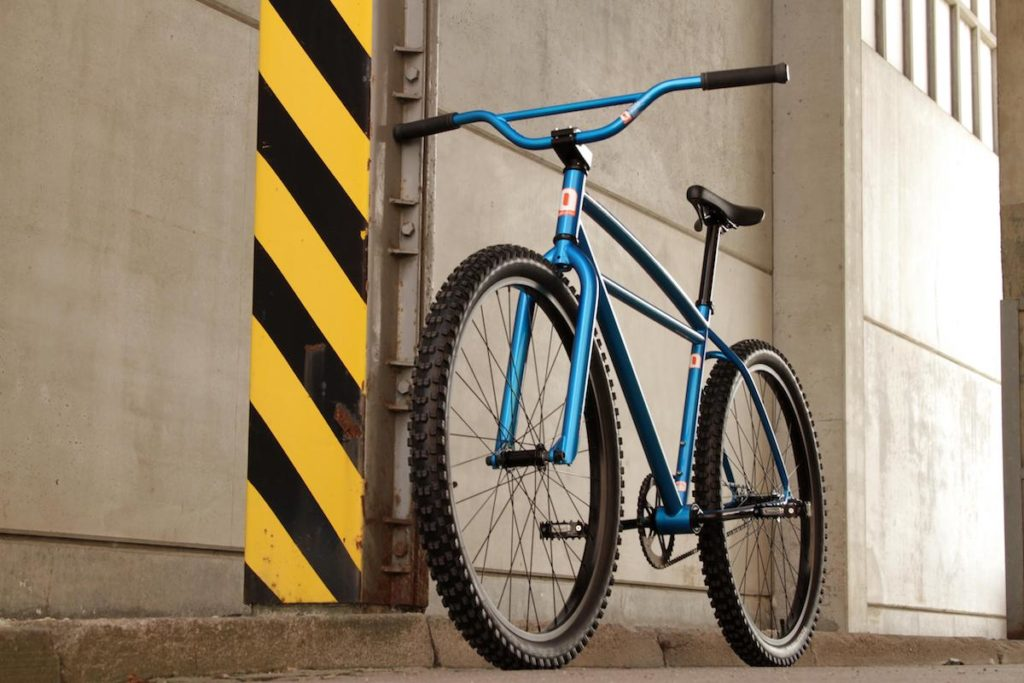 Leafcycles Klunker metallic blue