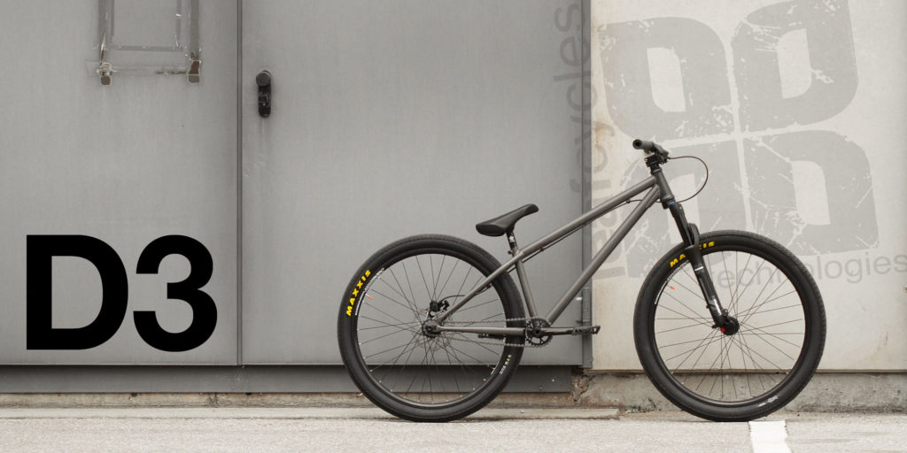 Leafcycles D3 complete dirt jumping bicycle - color: phosphated