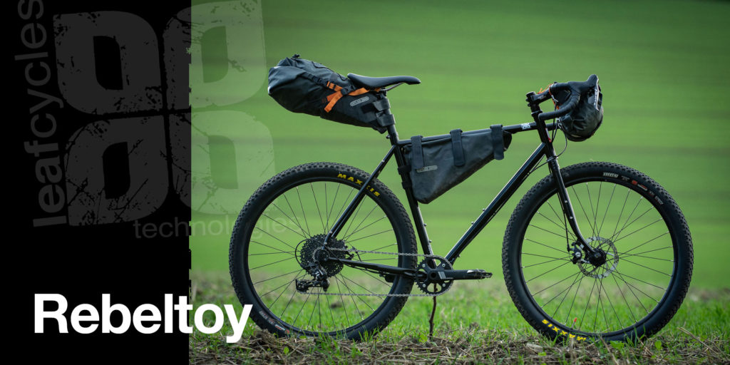 Leaf leafcycles rebeltoy adventure bicycle - prepared for the next gravel mission - color: black