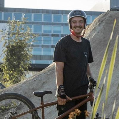 "Bernhard ""Bernie"" Kammel Portrait Shot - Team Leafcycles"