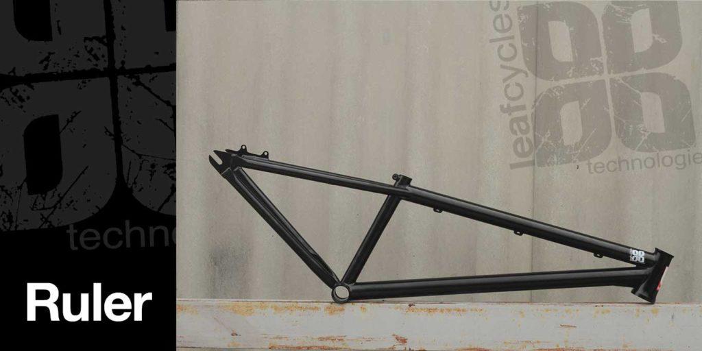 Leafcycles Ruler Stahl Rahmen
