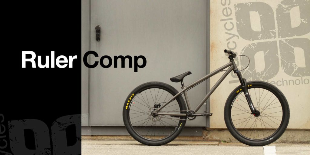 leafcycles ruler comp complete dirt jumping bike