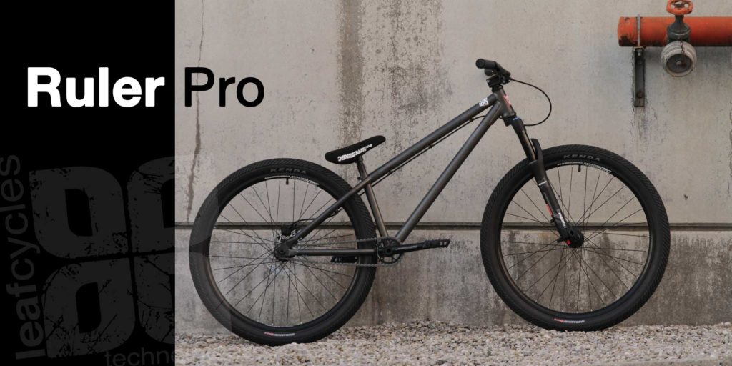 leafcycles ruler pro dirt jumping komplettrad