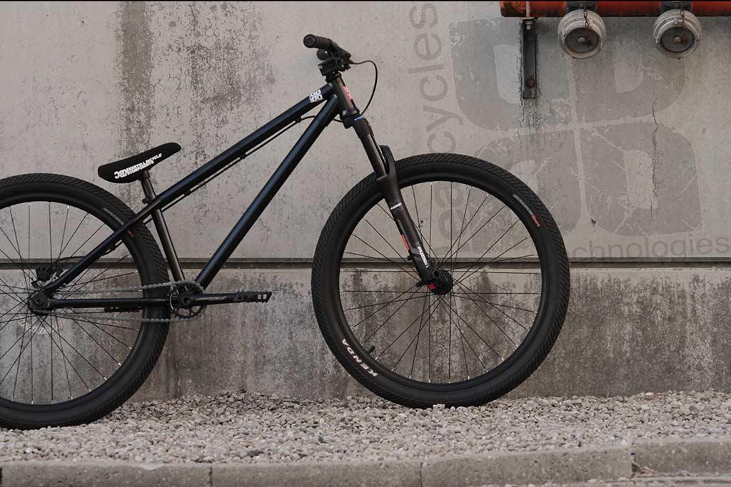 Leafcycles Ruler Komplettrad - schwarz